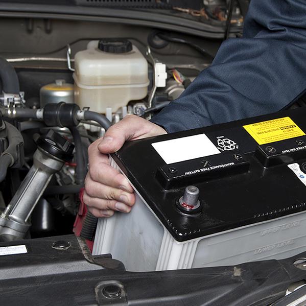 sostituzione batterie sul posto