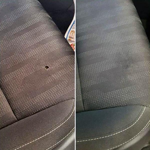 riparazione sedili in pelle
